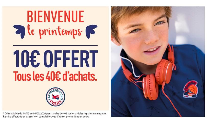10 offerts chez La Compagnie des Petits