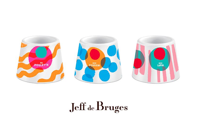 1 coquetier offert chez Jeff de Bruges
