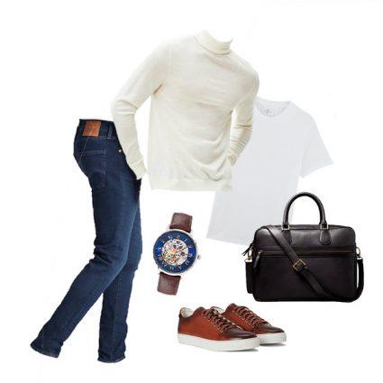 Tendance Mode homme avec un outfit basique et efficace