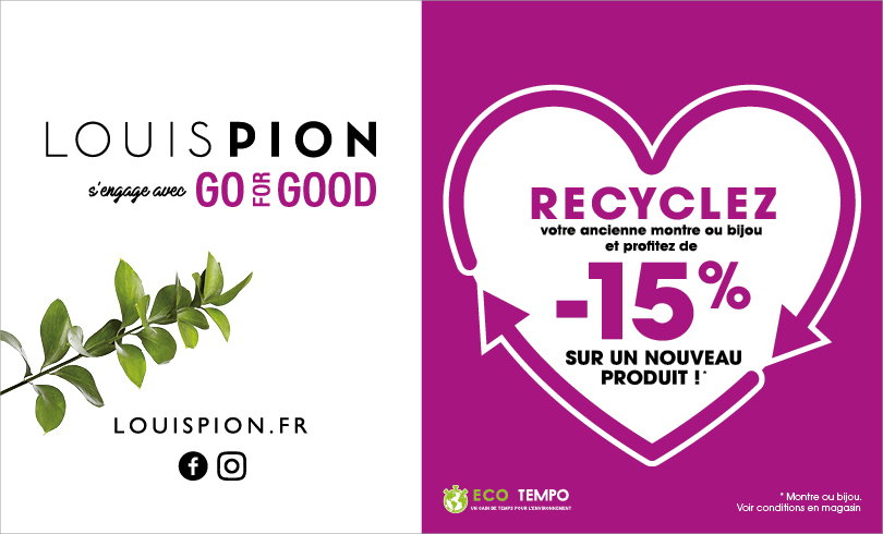«Recycler, c'est gagner» chez Louis Pion