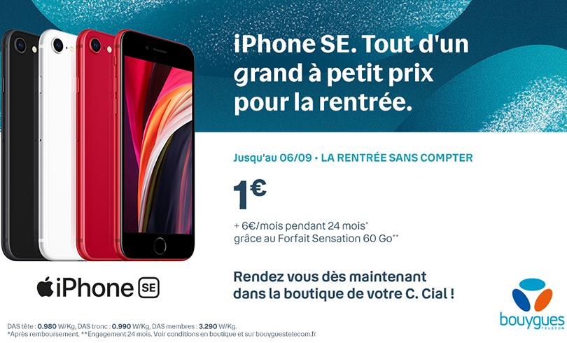 Offre spéciale rentrée chez Bouygues Telecom