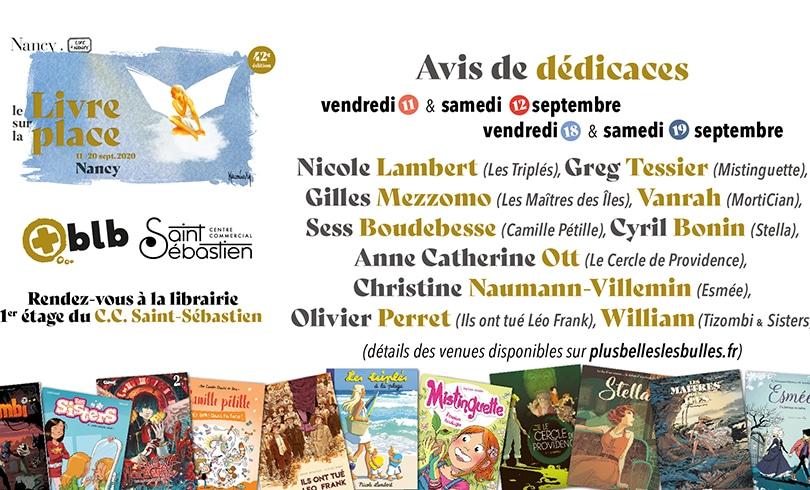 Le Livre Sur La Place s'invite au Saint Sébastien