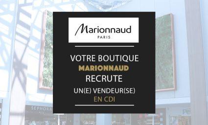 Votre boutique Marionnaud recrute - Saint-Sebastien Nancy