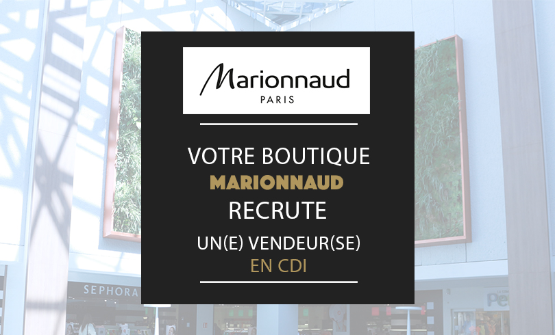 boutique marionnaud recrute saint seb nancy
