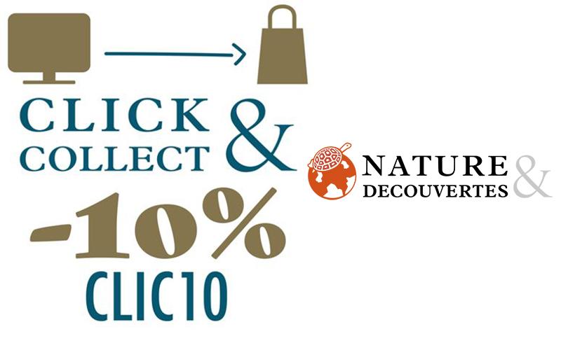 Offre Click & Collect chez Natures & Découvertes