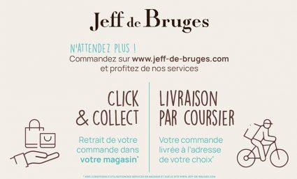 Nouveaux services chez Jeff De Bruges - Saint-Sebastien Nancy