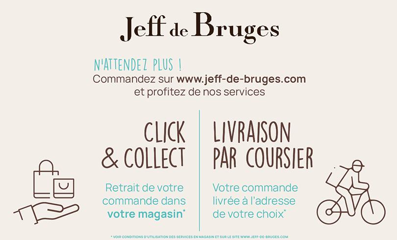 Nouveaux services chez Jeff De Bruges