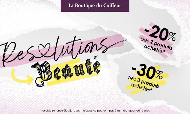 Les résolutions beauté 2021 chez La Boutique du Coiffeur !