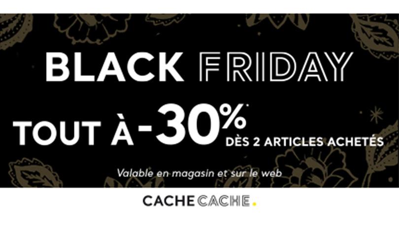 Black Friday chez Cache Cache