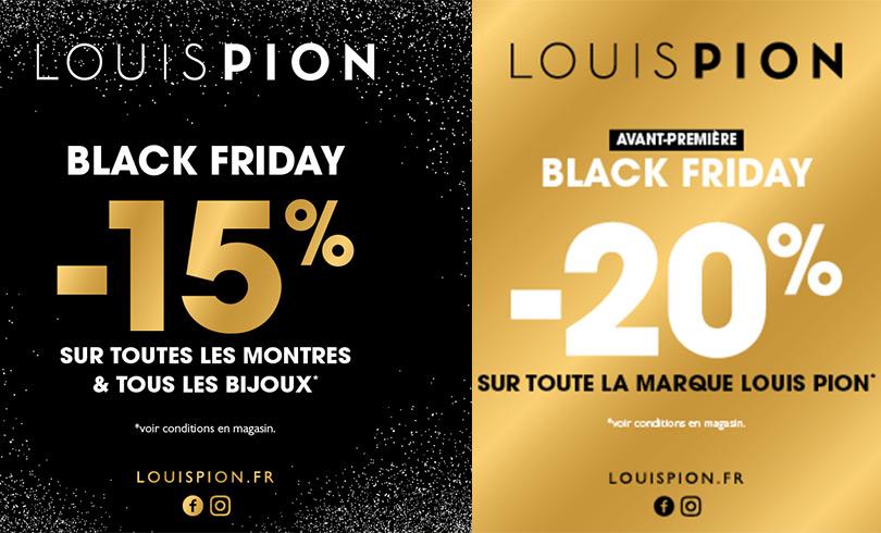 Les offres Black Friday chez Louis Pion