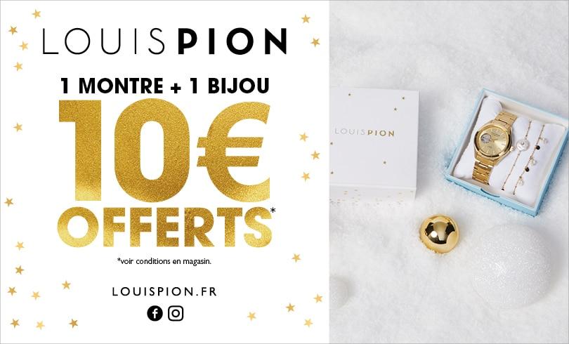 10 € offerts sur votre coffret Louis Pion à composer