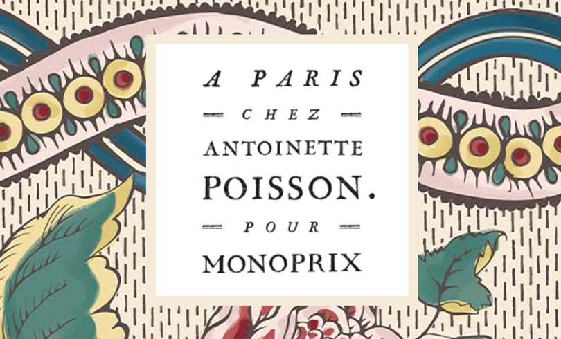 A Paris chez Antoinette Poisson x Monoprix