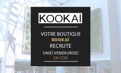 Votre boutique Kookai recrute - Saint-Sebastien Nancy
