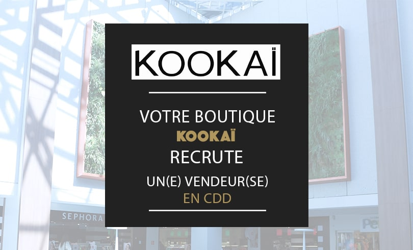 offre emploi boutique kookai nancy saint sebastien
