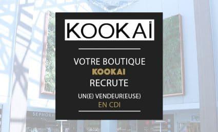Votre boutique Kookaï recrute ! - Saint-Sebastien Nancy