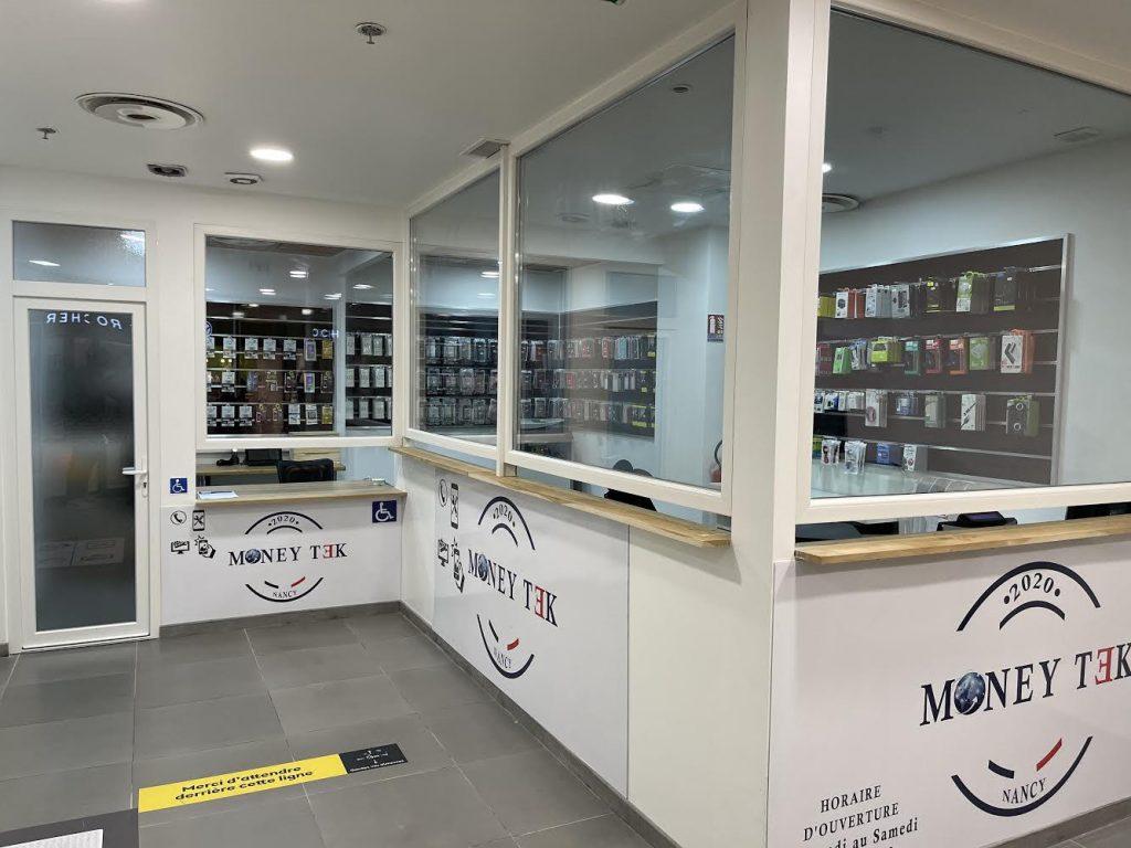 photo boutique money tek centre commercial saint sebastien nancy