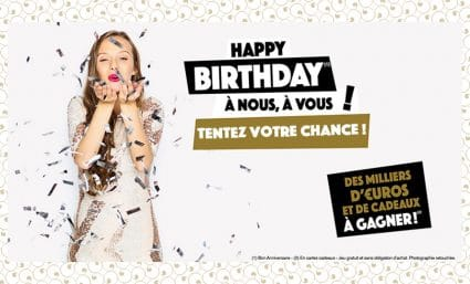 Concours HAPPY BIRTHDAY ! - Saint-Sebastien Nancy