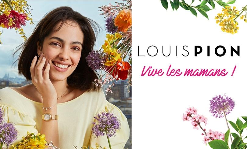 Louis Pion fête les mamans