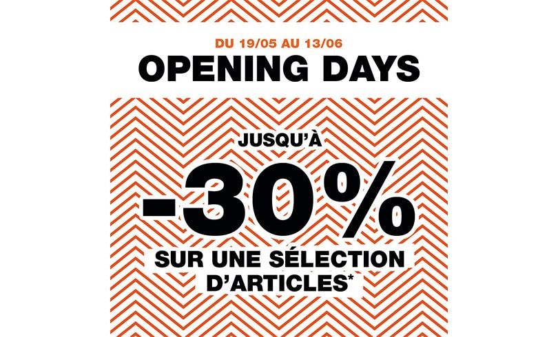 Opening Days chez Courir