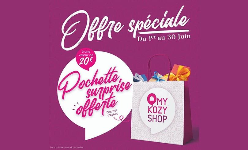 Offre spéciale chez My Kozy Shop