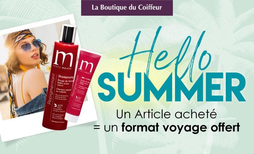 Hello Summer chez La Boutique du Coiffeur !