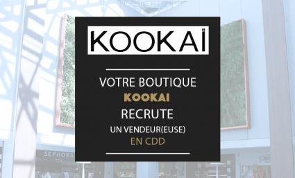 Kookaï recherche un(e) vendeur(euse) en CDD - Saint-Sebastien Nancy