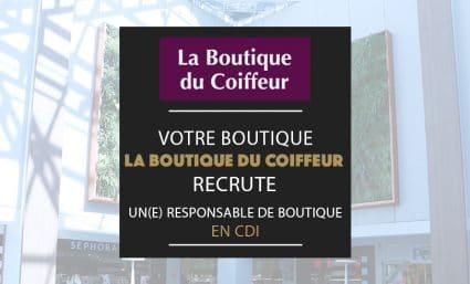 La Boutique du Coiffeur recrute - Saint-Sebastien Nancy