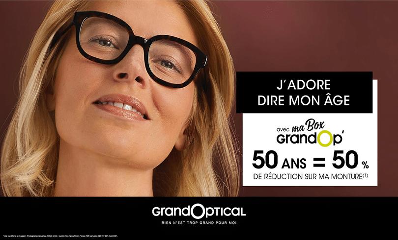 Offre rentrée avec Grand Optical