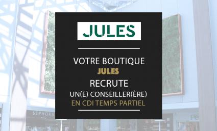 La boutique Jules recrute ! - Saint-Sebastien Nancy