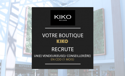 Votre boutique KIKO recrute ! - Saint-Sebastien Nancy