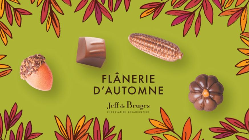 Flânerie  d'automne chez Jeff de Bruges !