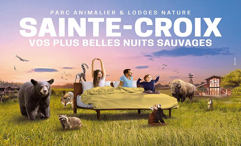 GAGNER VOTRE SÉJOUR AU  PARC ANIMALIER SAINTE-CROIX !