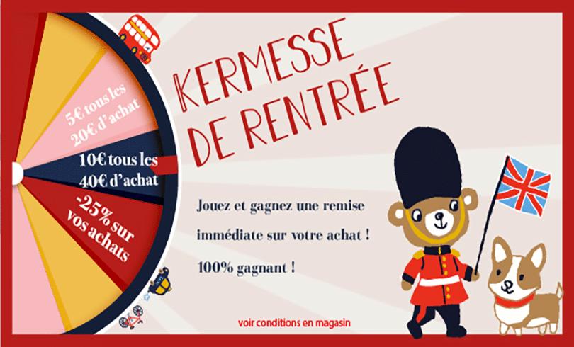 «Kermesse de Rentrée» chez Sergent Major !
