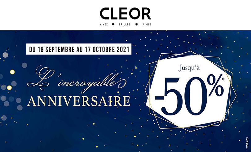 L'incroyable anniversaire CLEOR