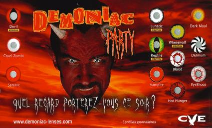 Découvrez les lentilles Halloween chez Alain  Afflelou ! - Saint-Sebastien Nancy